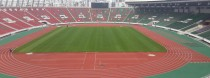 Panoramic view of the Prince Moulay Abdellah Stadium